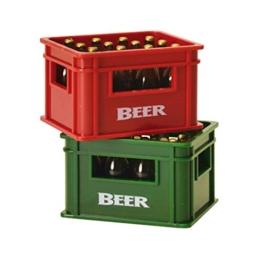 Bierkiste Flaschenöffner mit Magnet - Bierkasten Bieröffner Kapselheber - 1
