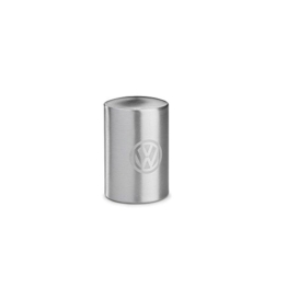 Volkswagen Flaschenöffner Push Effekt Metall Öffner VW Emblem Silber 000087703CTJKA - 1